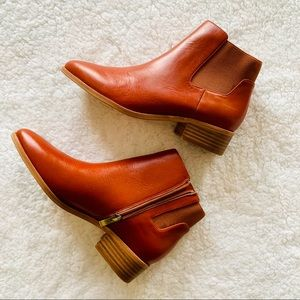 New Madewell Leather Booties